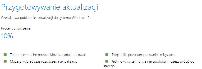 Pliki zawarte w folderze Windows.old pozwolą nam cofnąć stan systemu sprzed aktualizacji