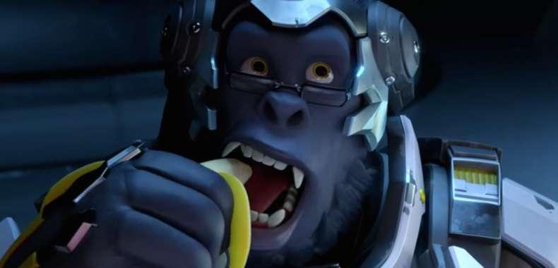 Winston zamiast popcornu wybrał banana :)