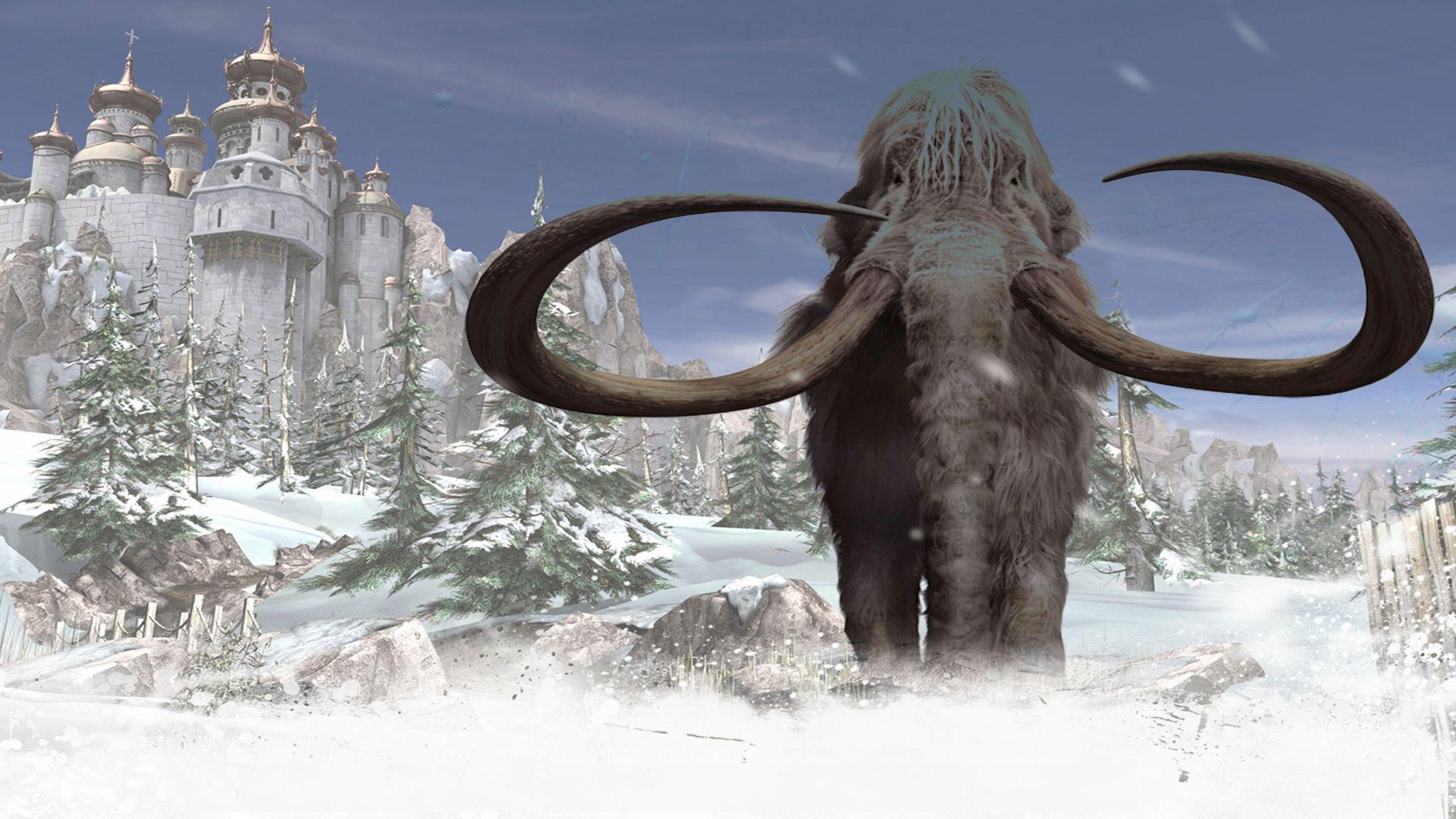 Zagadka mamutów, czyli czego to twórcy nie wymyślą...