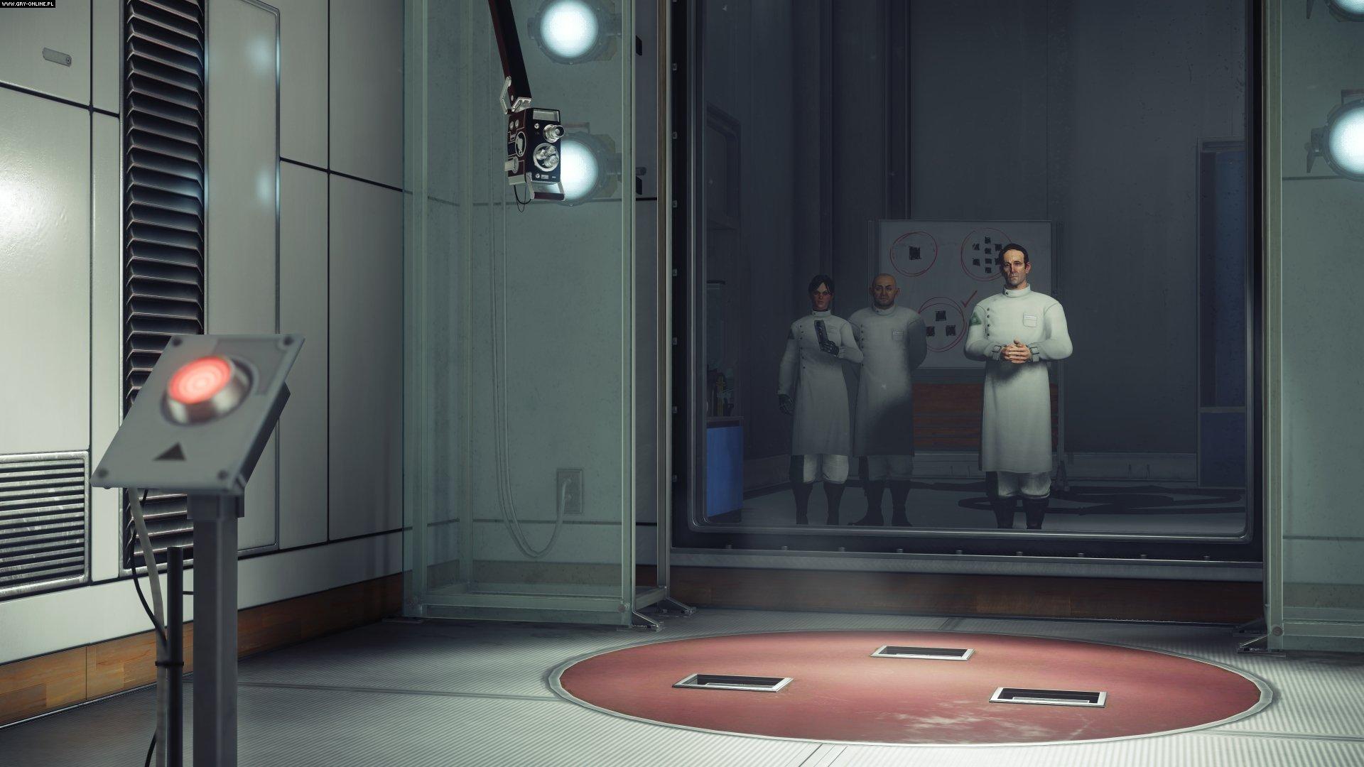 Pierwsze zadanie gry, wciśnij duży, czerwony przycisk! Wcale nie podejrzane!