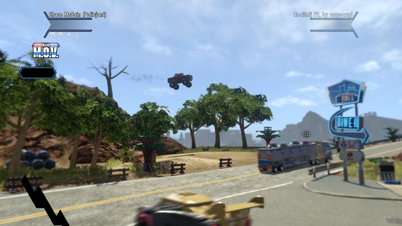 Latający monster truck... bo czemu nie?